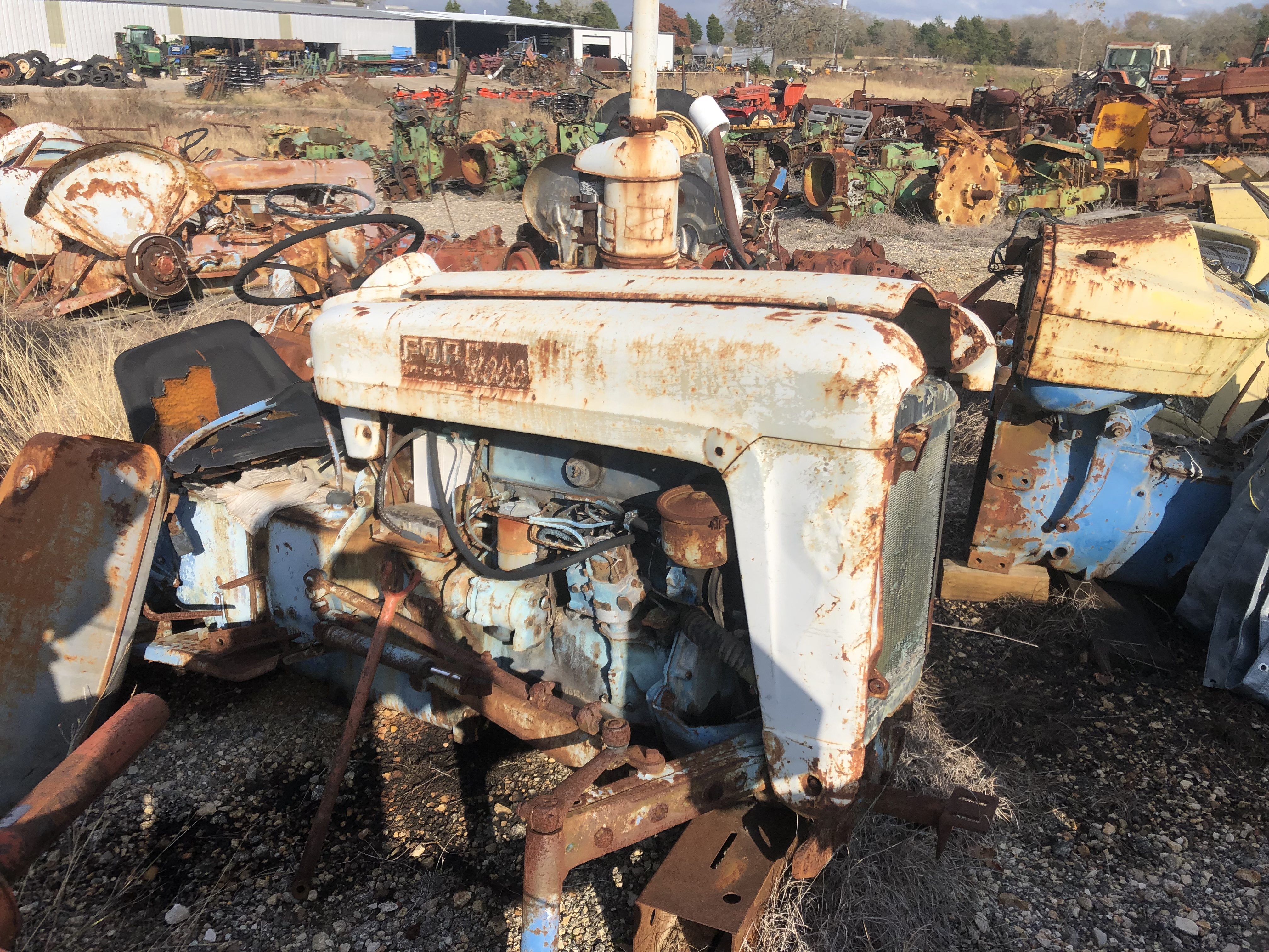 Used Salvage Tractors for Sale | Ford Tractor Salvage Yards