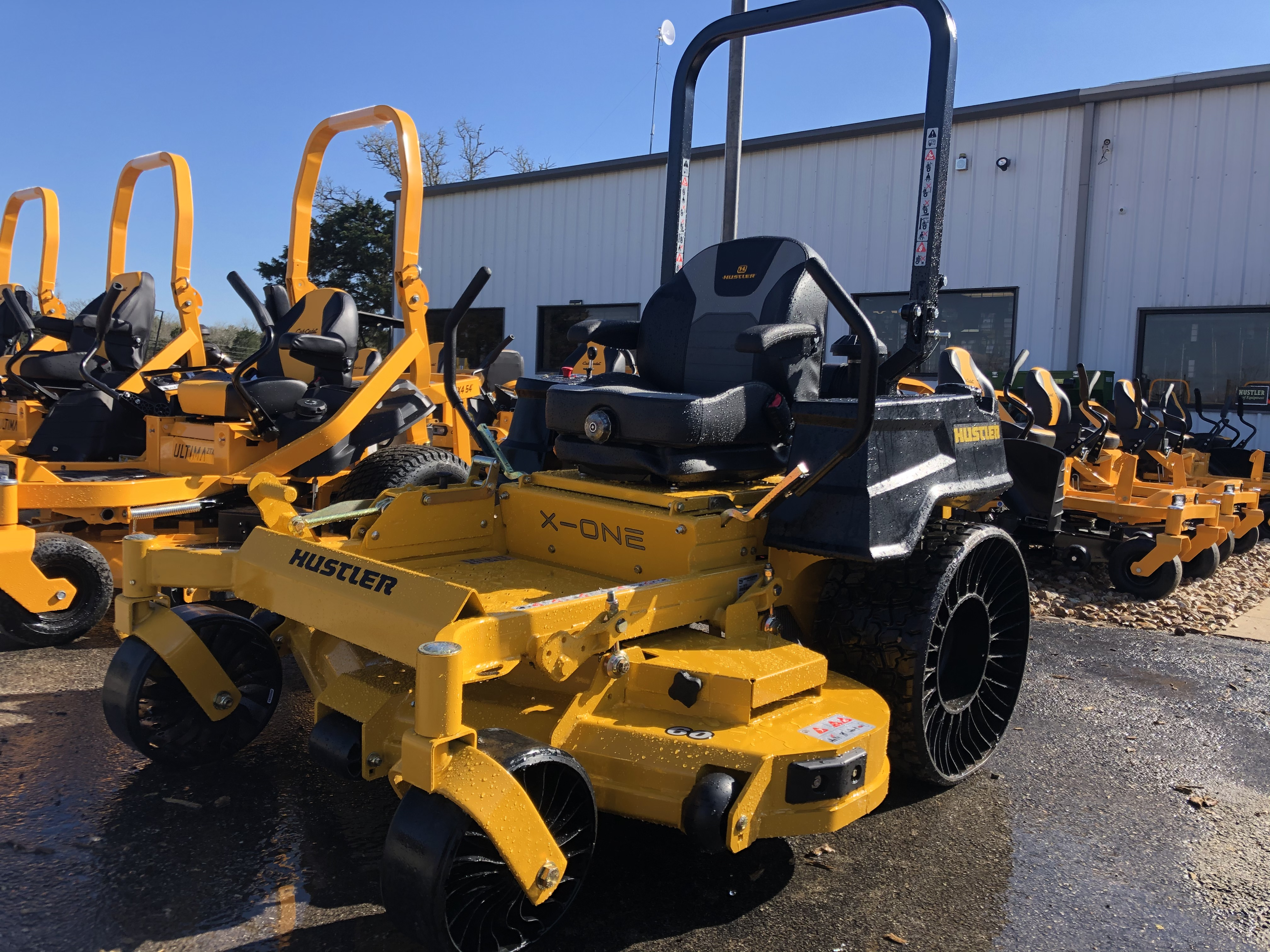 Selection of riding lawn mowers for sale near Bastrop, TX